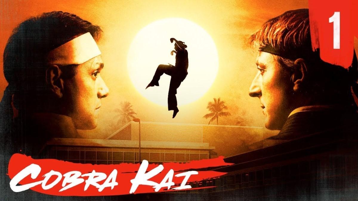 Cobra Kai: The Karate Kid Saga Continues (Poster art)