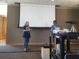 Manton Reece and Jean MacDonald present a keynote on the Micro.blog Community and Progress