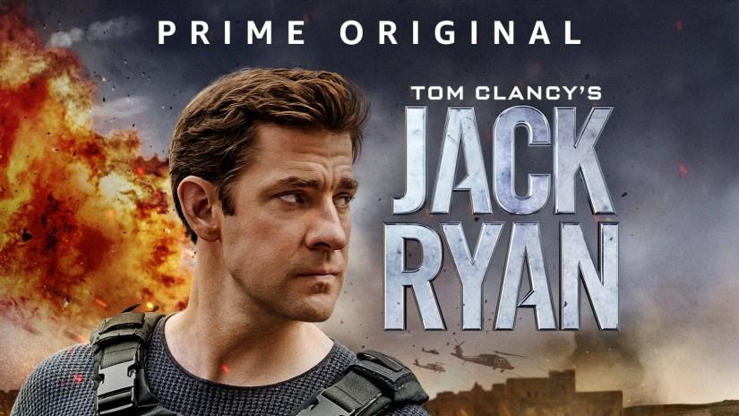 Poster Artwork for the Jack Ryan series on Amazon Prime