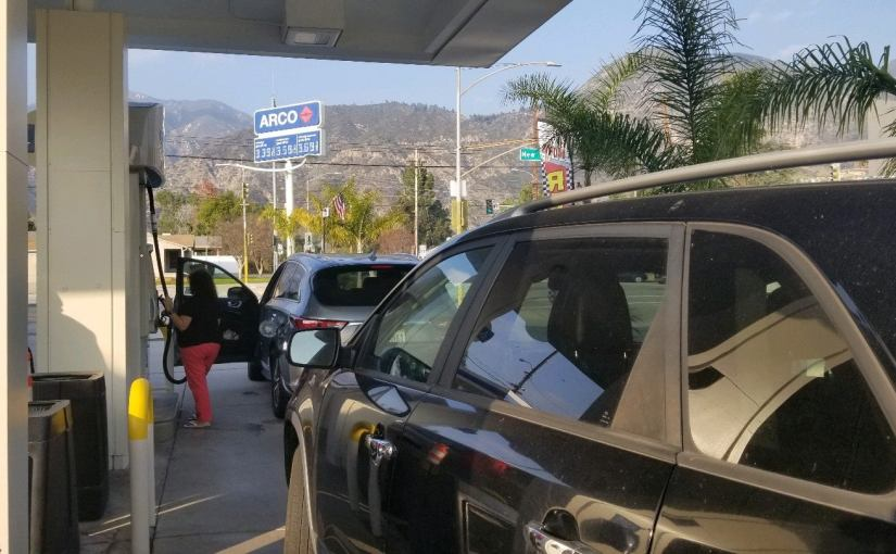 Arco gas station