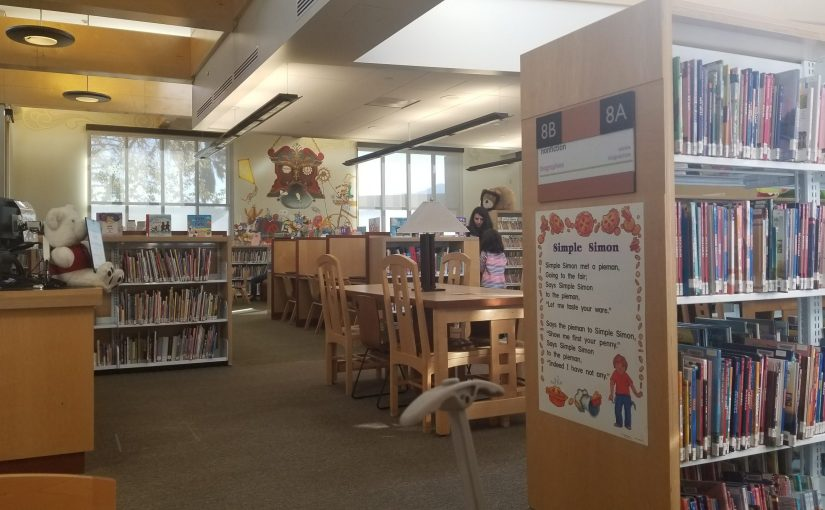 Children's section of the County of Los Angeles Public Library - La Crescenta