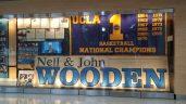 John Wooden display at Pauley Pavillion