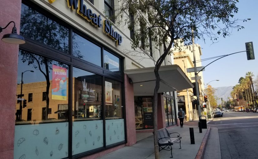 Wheat Shop store front in Downtown Pasadena