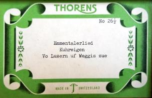 The manufacturer's label inside the top of the box.
