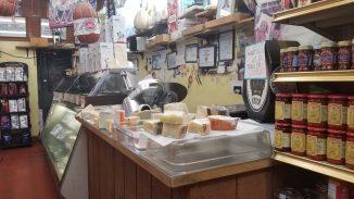 The deli counter