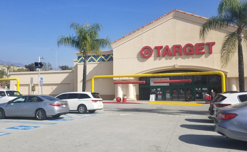 View on front of Target from back in the parking lot