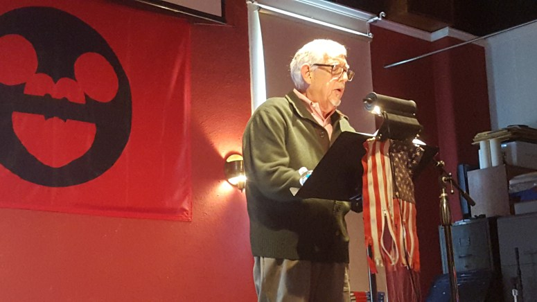 Henry Korn reads Amerikan Krazy at BC Space