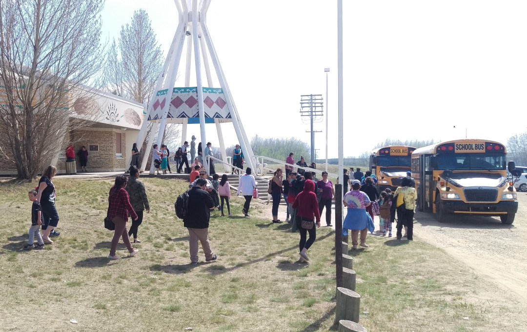 CBMES/CRCEC students are evacuated after a too-close-for-comfort wildfire near the schools