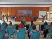 DPRD Bolmut Daerah Pemilihan (Dapil) II menggelar kegiatan reses di kantor Camat Bolangitang Timur.