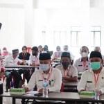 Bupati Bolsel Buka Ujian Dinas dan Kenaikan Pangkat Penyesuaian Ijazah