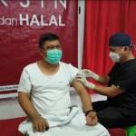 Ketua DPRD Kotamobagu Jalani Penyuntikan Vaksin Covid-19