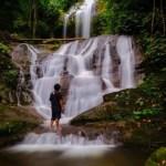Air Terjun Kosibidan Boltim Bak Mutiara Ditengah Hutan