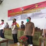 Wabup dan Kapolres Boltim, Launching KTN di Kecamatan Kotabunan