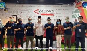 Bupati Bolsel Kunjungi Wisma Antara di Jakarta