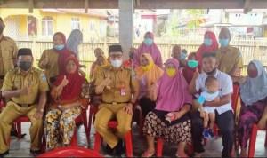 Bupati Bolsel Tinjau Pelaksanaan Vaksinasi Covid-19 di Desa Iloheluma