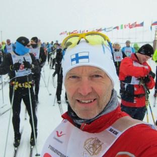 En finländare i startfållan