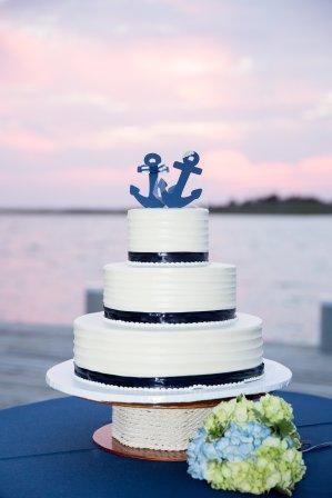 Little Egg Harbor Yacht Club wedding cake