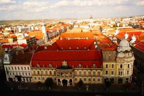 Cluj-Napoca City Palatul Banffy/Muzeul de Arta - August 2012