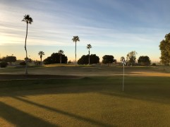 Looking back from 4th green with 6th green in background.