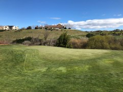 Side view of 11th green.