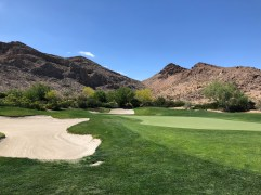 View of 5th green.