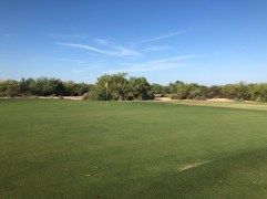 Side view of 13th green.