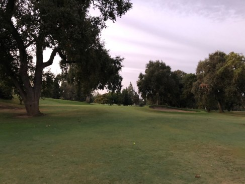 2nd approach (was still too dark for pictures on the 1st hole).