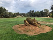 16th approach with another unique rock formation.