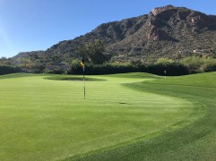 Another angle of the 13th/14th double green.
