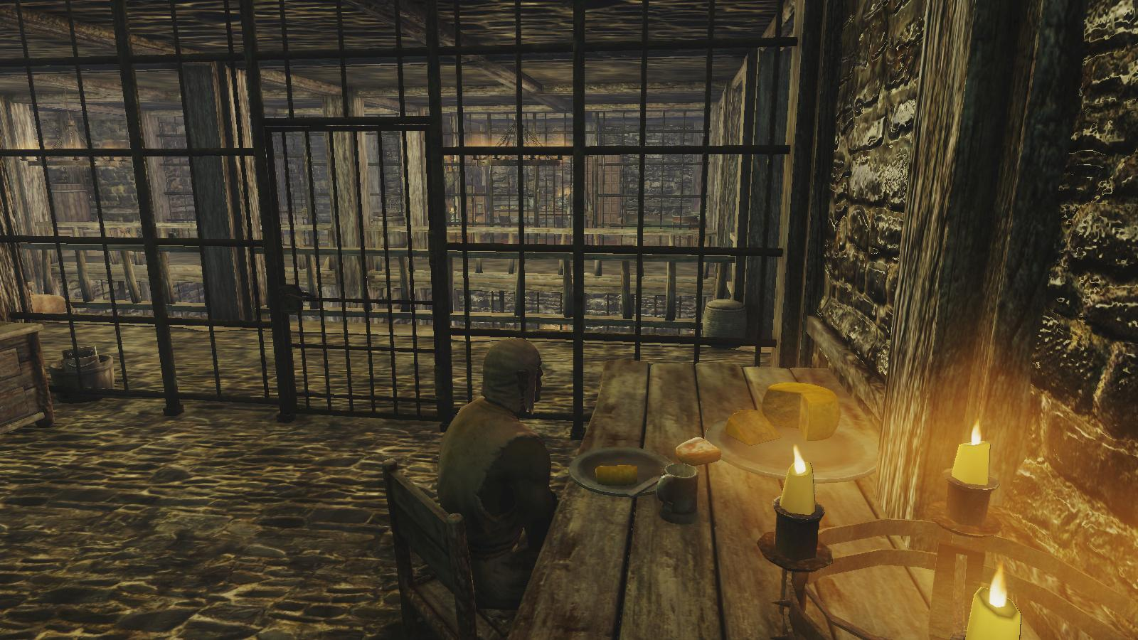 My First Day In Skyrim Is Spend In Riften S Jail Well