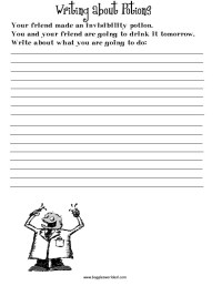 ESL Creative Writing Worksheets