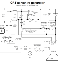 crt screen schematic wiring diagram operations crt monitor schematic diagram use wiring diagram crt screen schematic [ 1578 x 1454 Pixel ]