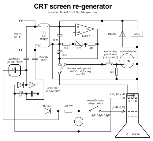 small resolution of crt screen schematic wiring diagram operations crt monitor schematic diagram use wiring diagram crt screen schematic