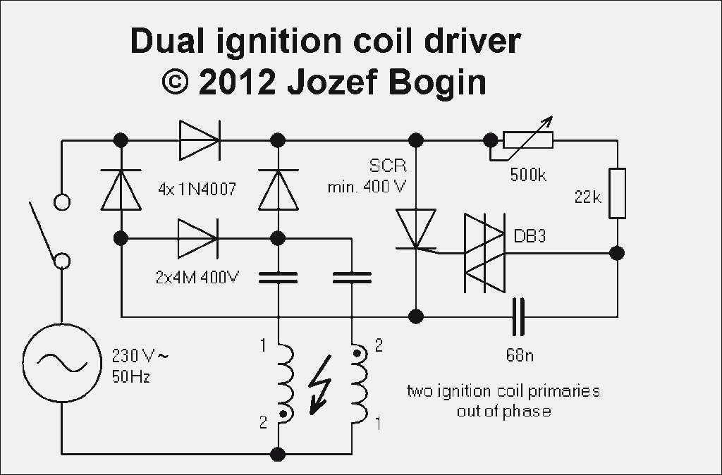 Dual ignition coil driver