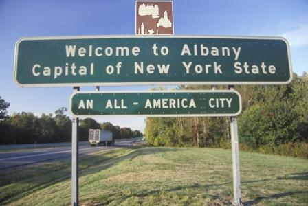 Surprise trip to Albany!