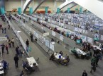 The AGU poster hall - how could you ever see all the research on show in here?!