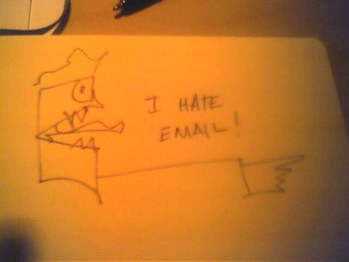 """I Hate Email"" by dansteeves68 is licensed under CC BY-NC-SA 2.0"