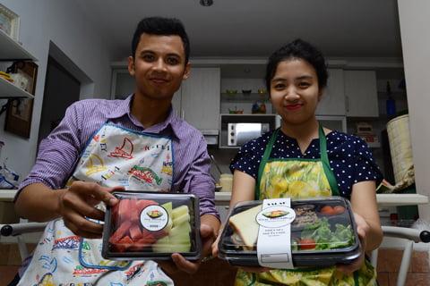 Dua Sejoli Terjun Di Bisnis Katering Makanan Sehat Bogor Today