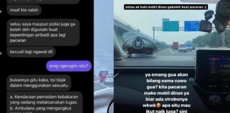Viral Mobil Dinas Patroli