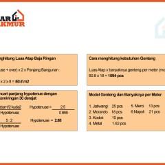 Cara Menghitung Pemakaian Baja Ringan Untuk Atap Rumah Biaya Bogor