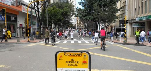 ciclovia and cicloruta bogota colombia