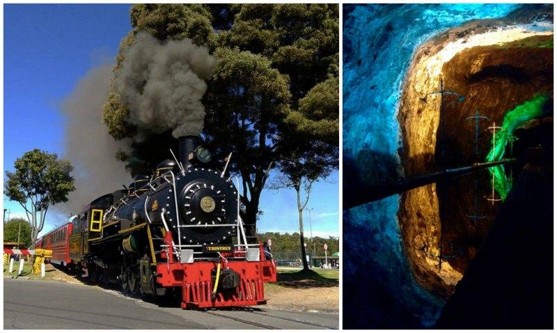 Tren de La Sabana to the Salt Cathedral, Nemocon or both.
