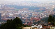 Bogota cityscape