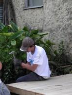 on a Techo por mi pais building project - in south Bogota