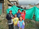 kids playing in South Bogota