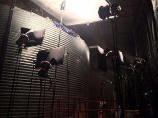 Some lights doing some lighting
