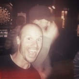 Gaffer Matt Muegge knows how to party
