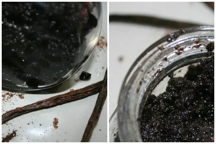 Homemade Koffiescrub