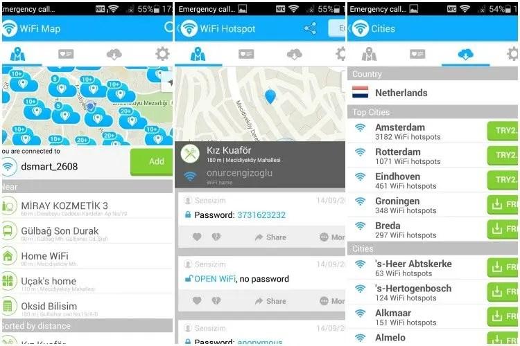 Wifi Maps