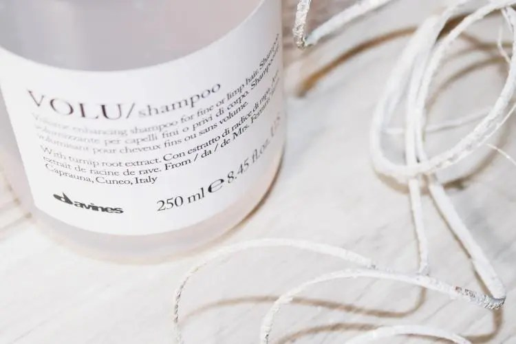 Davines VOLU Shampoo Review